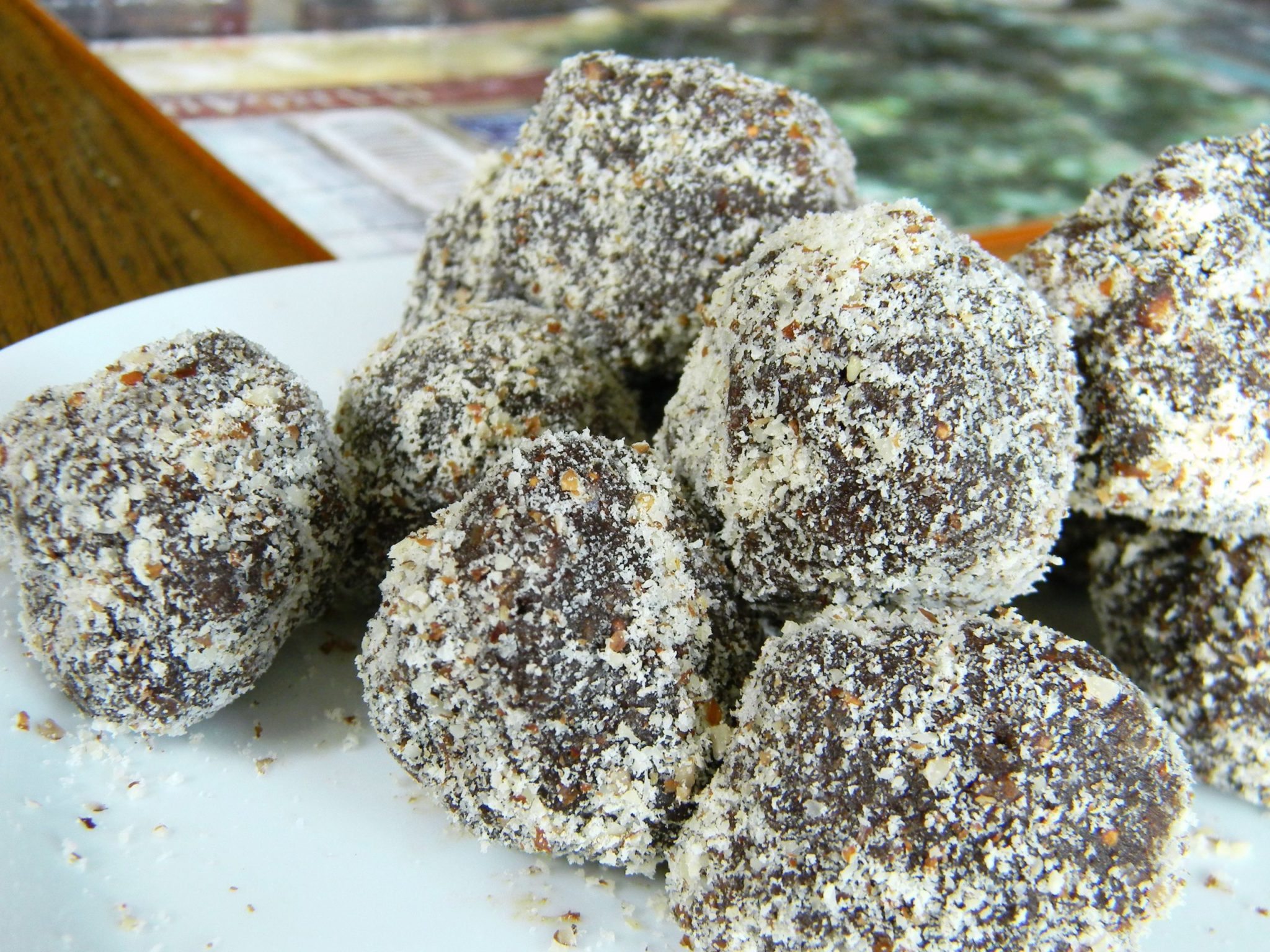 Chewy Chocolate Balls
