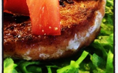Salmon Burgers made in a second!