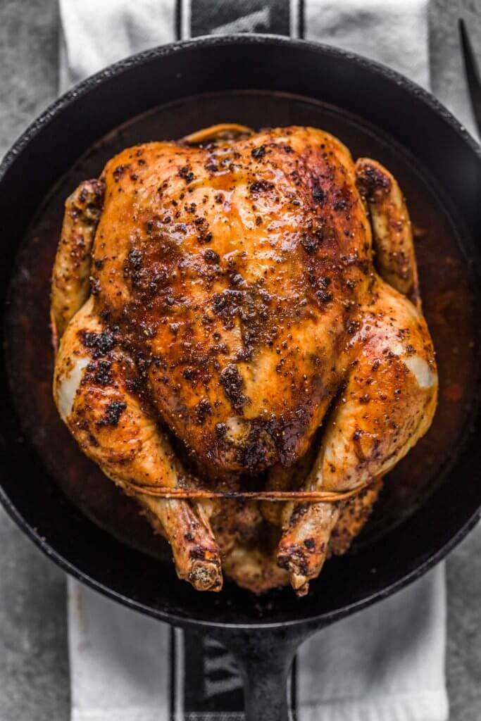 Easy Roast Chicken Recipe + Best Tasting!