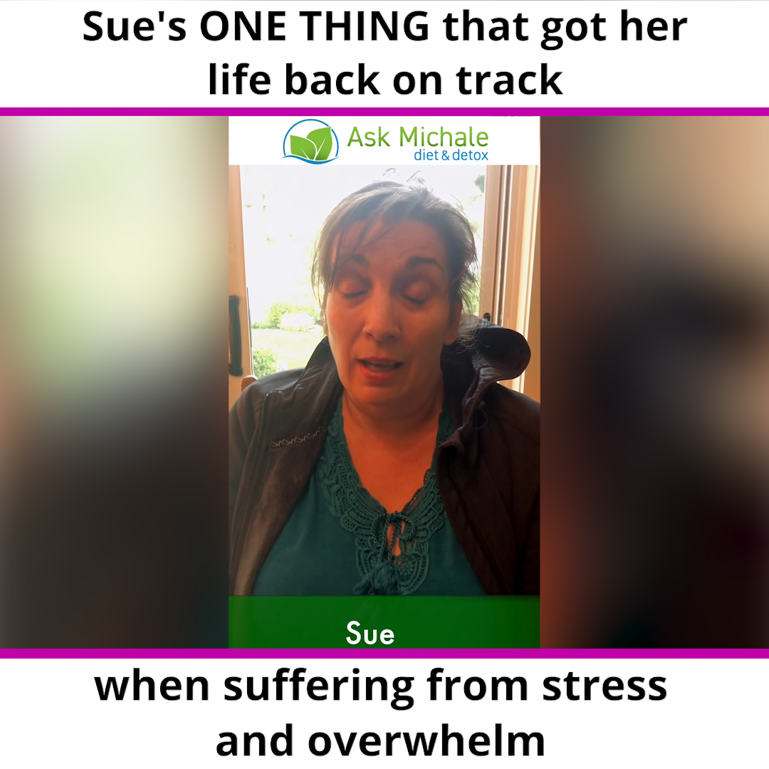 How Sue got clarity and her life back on track