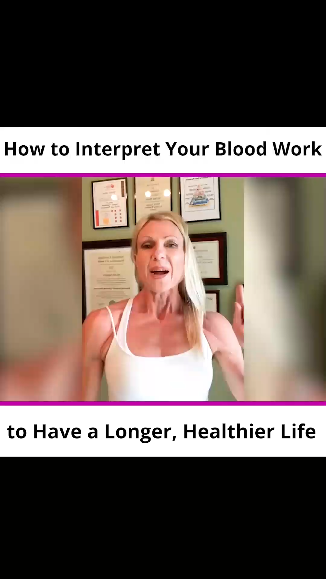 How to Interpret Your Blood Work to Have a Longer, Healthier Life