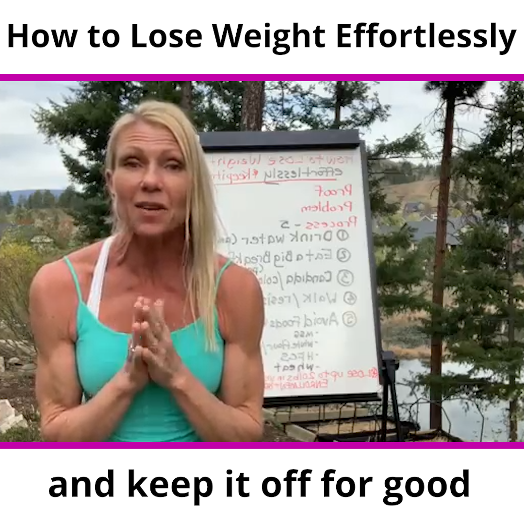 How to Lose Weight Effortlessly and keep it off for good