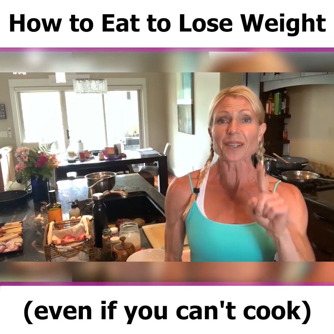 How to lose weight (even if you can't cook)